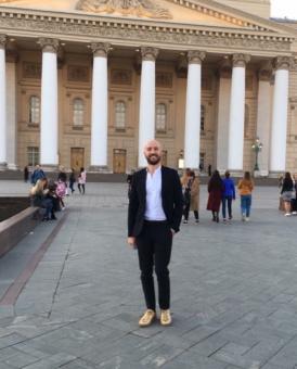 Riccardo Buscarini, Москва 2018